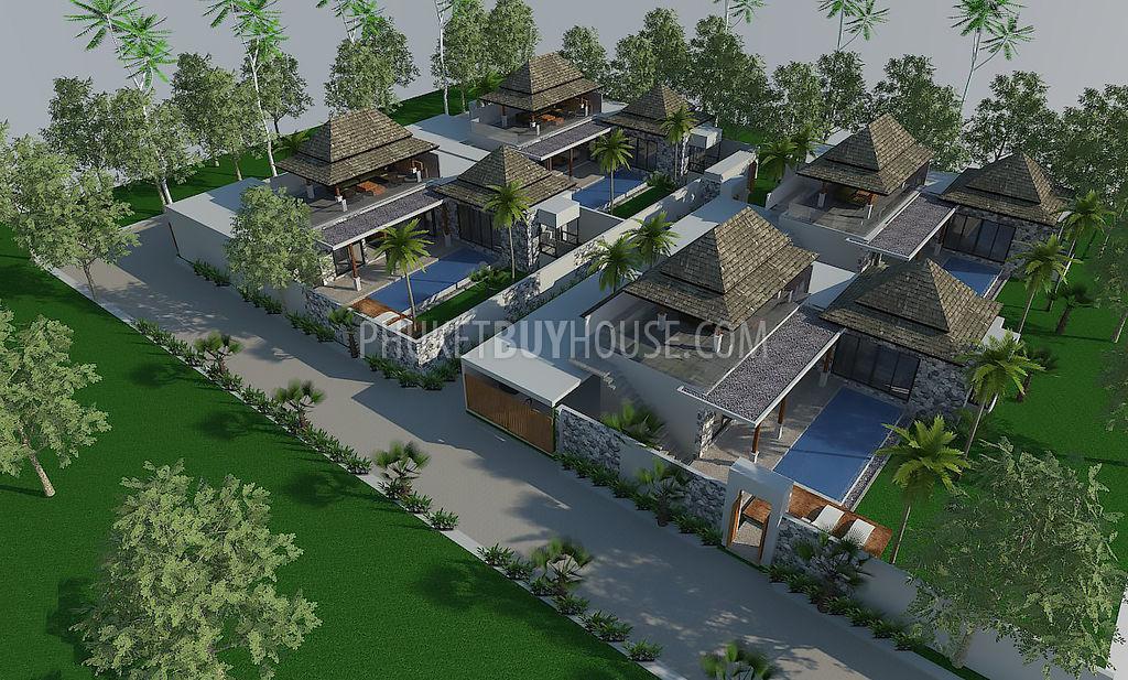 CHE5990:设计独特的新别墅,带私人泳池