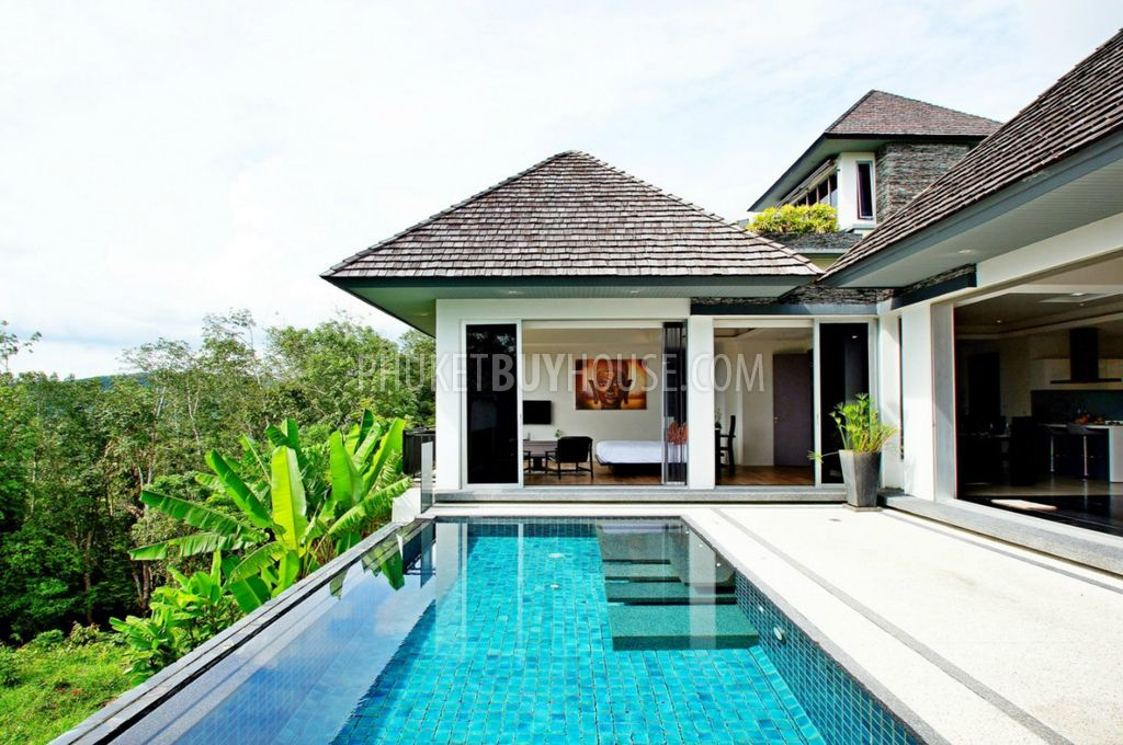LAY5992 Ocean view Villa with infinity Pool in Layan Phuket Buy House