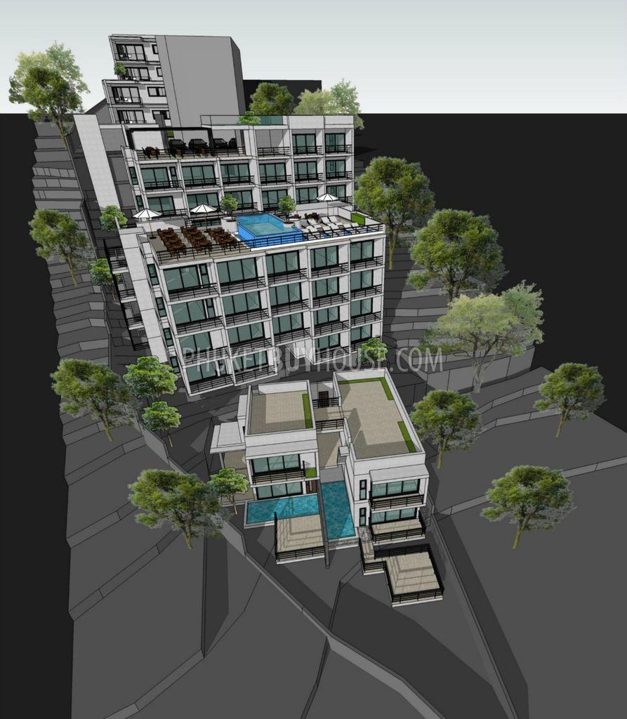 PAT5997: New Apartment-Studio Near Patong Beach