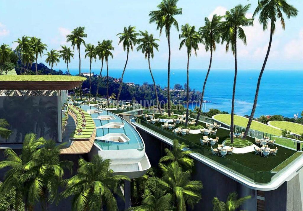 普吉岛新豪华住宅区的单身公寓KAMALA区:KAM6011