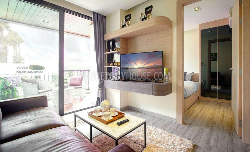 普吉岛海滩附近新公寓KATA区:KAT6012