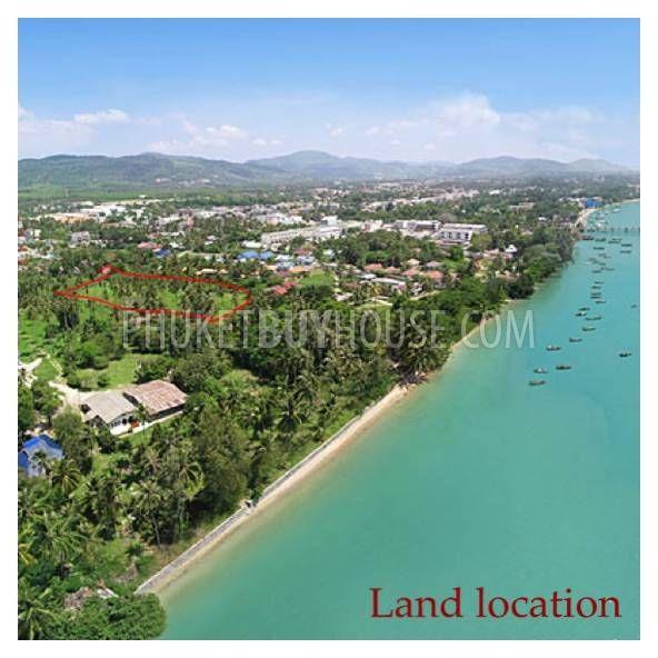 普吉岛海景地块用建别墅CHALONG区:CHA6015,编号46153