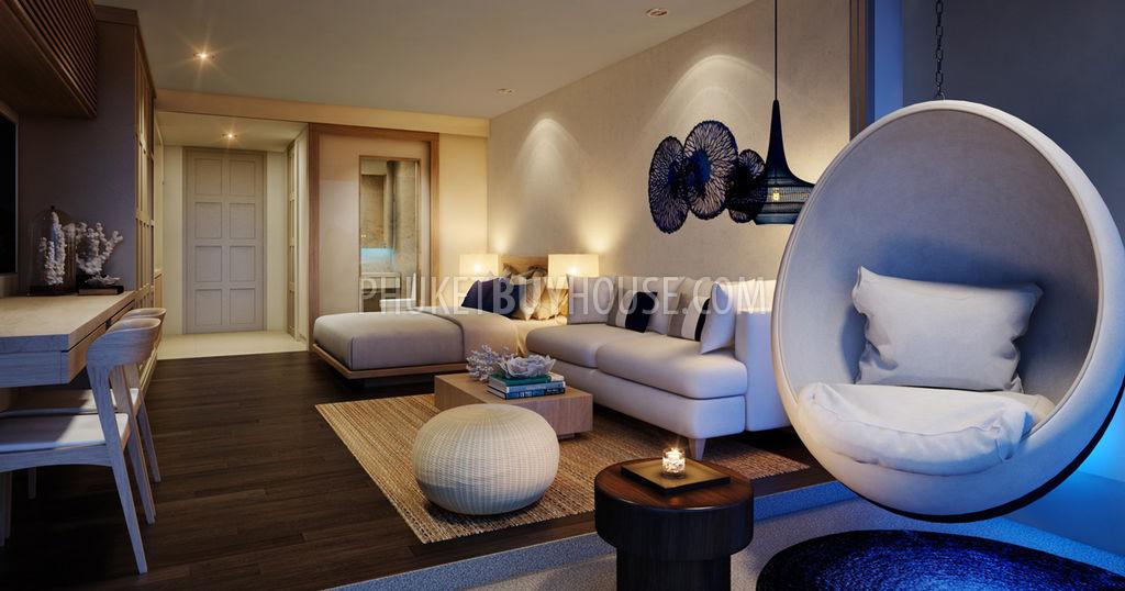 NAI6032:奈汗海滩附近时尚公寓的舒适公寓,编号46163