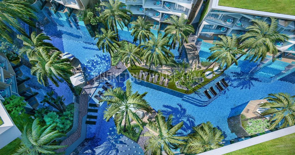 普吉岛欧式全装修公寓NAI HARN区:NAI6033