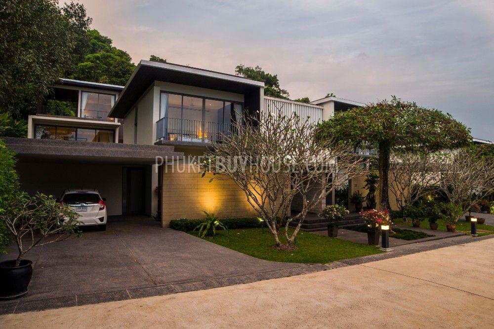 普吉岛完美海景私人游泳池的别墅YAMU区:YAM6040
