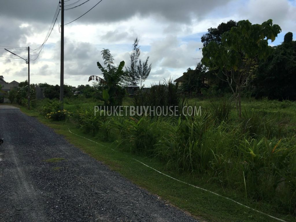 普吉岛出售土地2RAI多KAMALA区:KAM6114