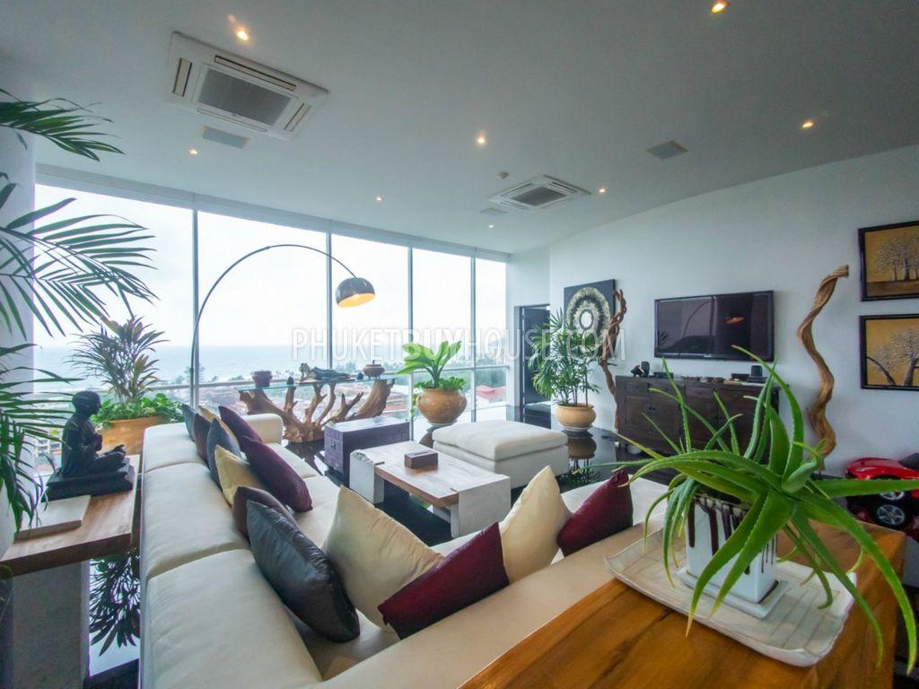 普吉岛4室海景豪华公寓KARON区:KAR6142