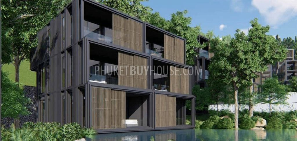 Kam6241 One Bedroom Apartments In A Luxurious Complex On The Lake Within Walking Distance To Kamal Phuket Buy House