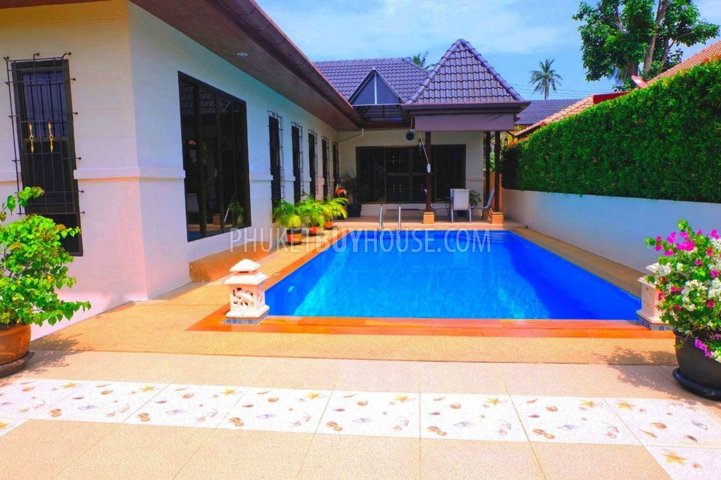 普吉岛私人游泳池的舒适美丽别墅RAWAI区:RAW6126