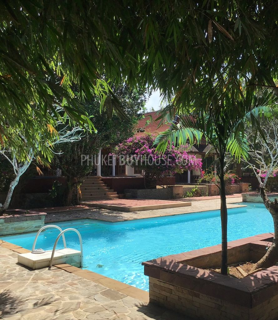 Tal6513 House With Pool For Sale In Talang Phuket Buy House