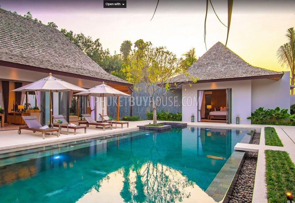 CHE6024:邦涛新项目的巴厘式私人泳池别墅
