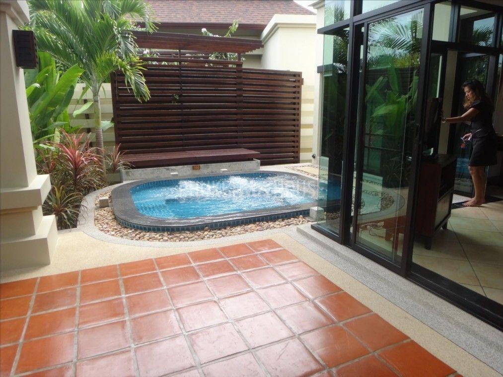 NAI1728: Villa for sale, 1 bed, private jacuzzi, in Nai Harn, 7 ...