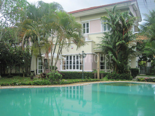 Cha1848 Beautiful Large 3 Bedroom House With Big Garden Swimming Pool In Chalong Phuket For