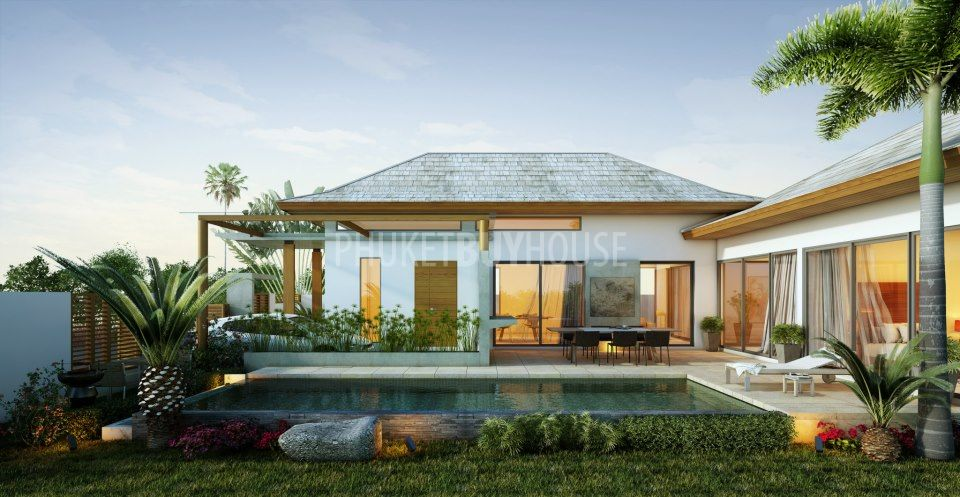 Kam3536 2 3 Bedrooms Contemporary Thai Pool Villa With