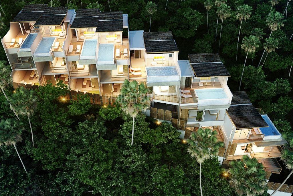 Pat2348 Buena Vista Triplex 3 Bedroom Sea View Villas