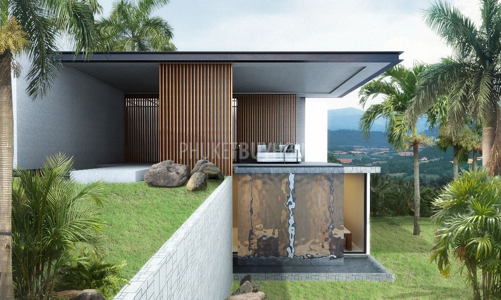 Lay3942 Modern Pool Villas In Layan For Sale Phuket Buy House