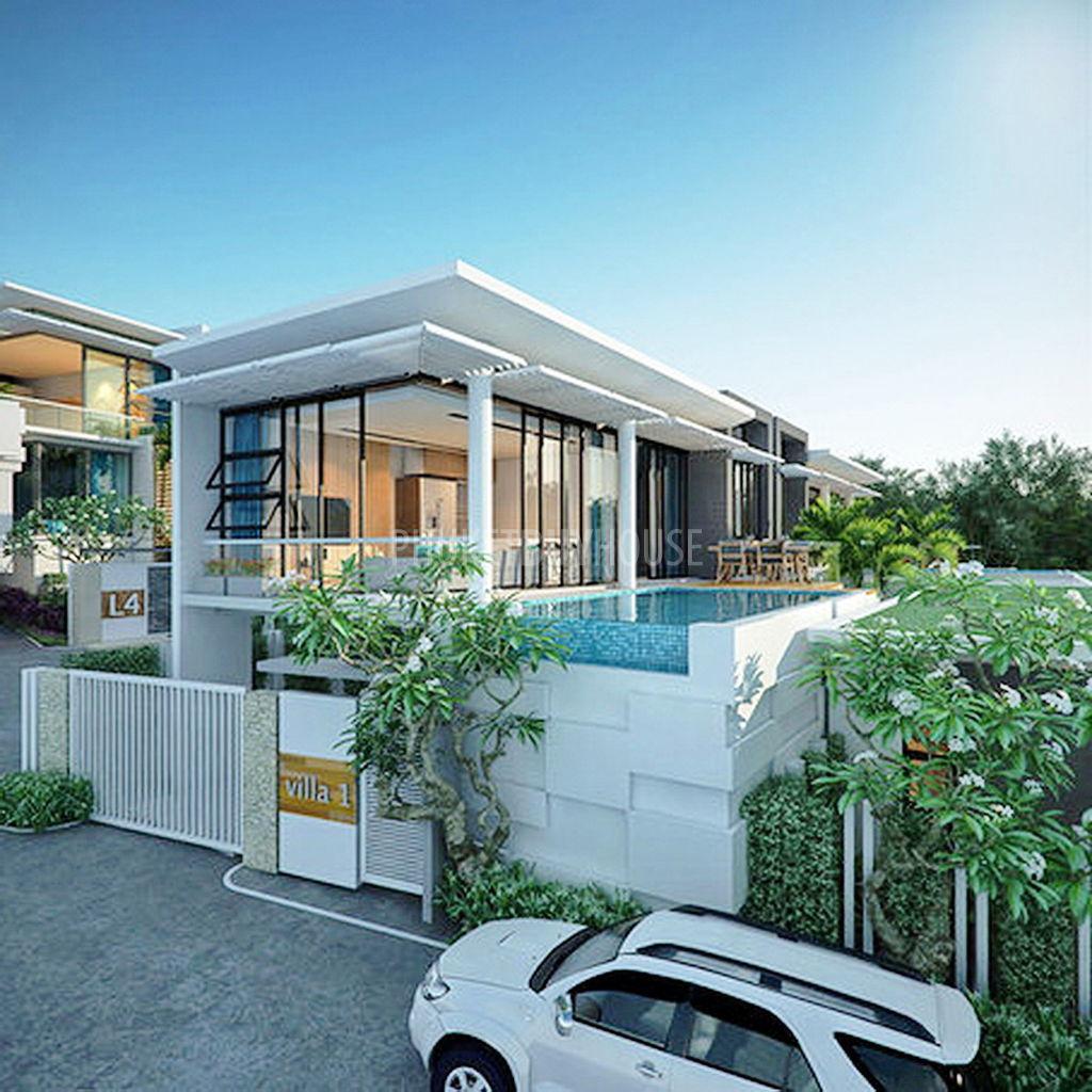 5 Star Beach House Kitchens: KAM4265: Sea View Three-bedroom Villas In Kamala For Sale