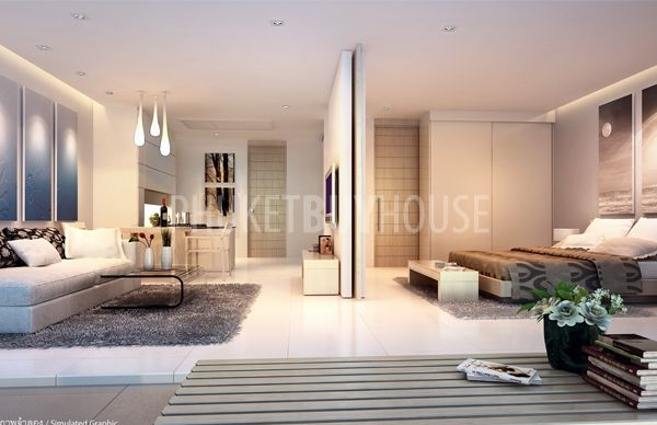 Kat4381 Modern Tropical Style Luxury Apartment 500 Meters From The Beach Phuket Buy House