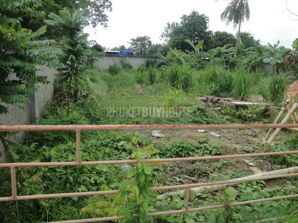 Nai4667 land plot in saiyuan phuket buy house - Houses for small plots of land ...