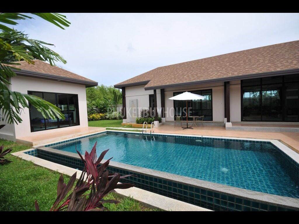 Raw4702 Brand New 3 Bedrooms L Shape Villa Phuket Buy House