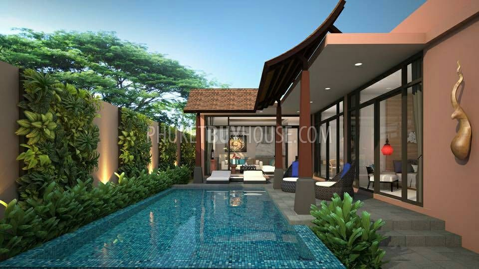 Lay5195 brand new 3 bedroom pool villa phuket buy house for Pool villa design