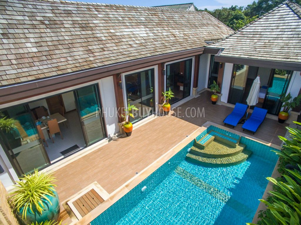 Raw4465 three bedroom fully furnished villas with private pool phuket buy house for Villas in uk with swimming pool