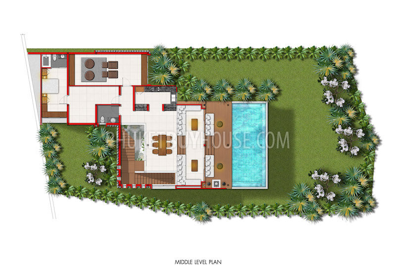 Thai style house floor plans for Thai style house design