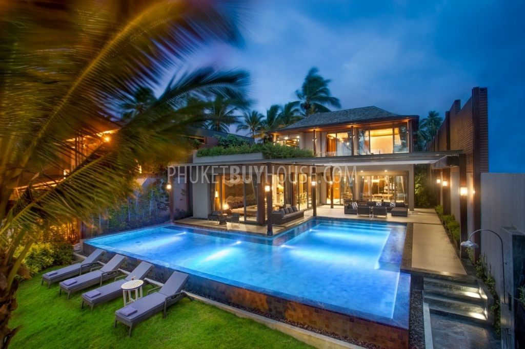 Pha5371 Luxury Oceanfront Villa At Natai Beach Phuket