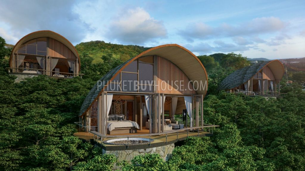 Unique Collection Of Sea View Cottages Which Set In An Inspiring Location On The Hillside Overlooking Patong Bay Complex Ideally Located Within Walking