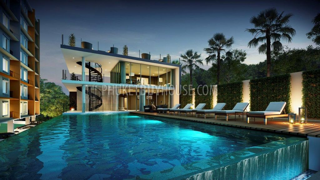 PHU Amazing Apartment With European Design Phuket Town - Incredible swimming pool cost 2000000