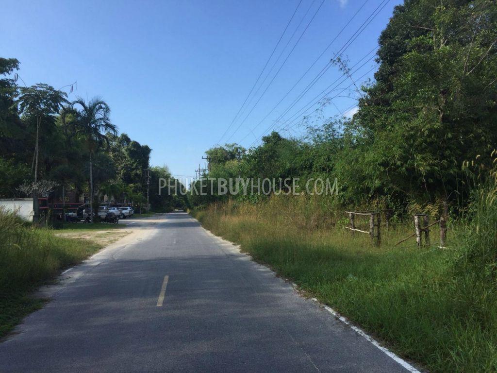 PHA5969:一大片土地,距离Koh许思义考海滩仅300米